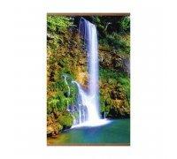 Пленочный обогреватель домашний очаг водопад