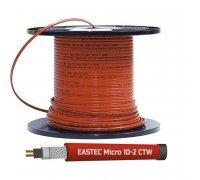 Греющий кабель саморегулирующийся для обогрева внутри трубы (в т.ч. с питьевой водой) EASTEC MICRO 10-CTW, 10 Вт/м.п.