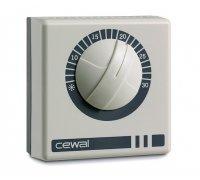 Терморегулятор комнатный CEWAL RQ 10 накладной