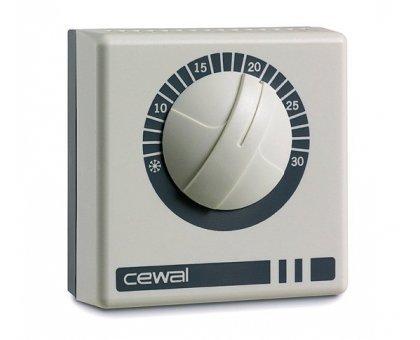 Купить Терморегулятор комнатный CEWAL RQ 10 накладной в Краснодаре