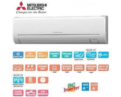 Купить Кондиционер Mitsubishi Electric MSZ-GF71VE/MUZ-GF71VE в Краснодаре