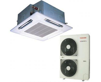 Купить Кассетный кондиционер Toshiba RAV-SM1604UT-E/RAV-SP1604AT8-E в Краснодаре