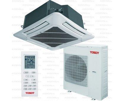 Купить Кассетный кондиционер Tosot T48H-LC2/I/TC04P-LC/T48H-LU2/O в Краснодаре