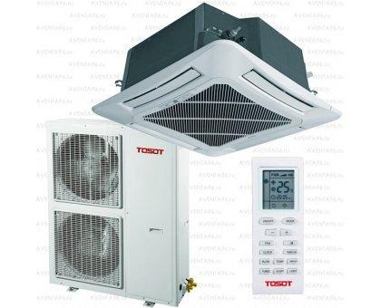 Купить Кассетный кондиционер Tosot T60H-LC2/I/TC04P-LC/T60H-LU2/O в Краснодаре