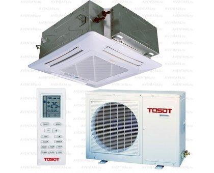 Купить Кассетный кондиционер Tosot T18H-LC2/I/TC03P-LC/T18H-LU2/O в Краснодаре
