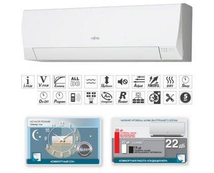 Купить Кондиционер Fujitsu ASYG07LLCA/AOYG07LLC в Краснодаре