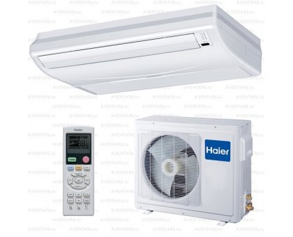 Купить Напольно-потолочный кондиционер Haier AC24CS1ERA(S)/1U24FS1EAA в Краснодаре